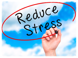 Stress reduction is one of the big benefits of reflexology.